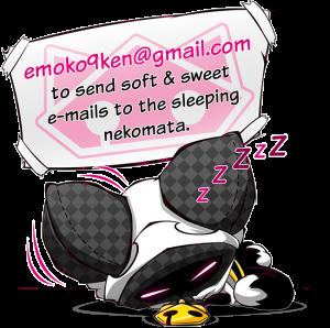 Kyuken is sleeping